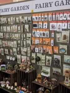 selection of fairy garden items