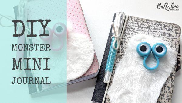 Video Tutorial: Mini monster journal