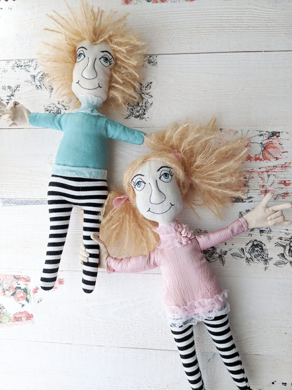 Making Twin Acrobat Dolls