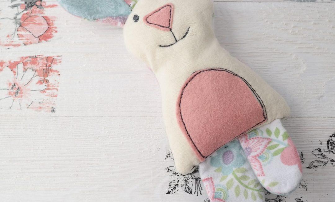 sizzix softie made with cat/bear/bunny bigz die