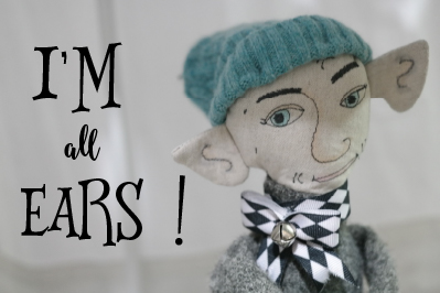 all ears doll and text