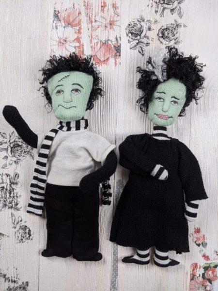 frankenstien ITH cloth doll