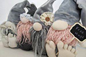 DIY sock gnome pattern