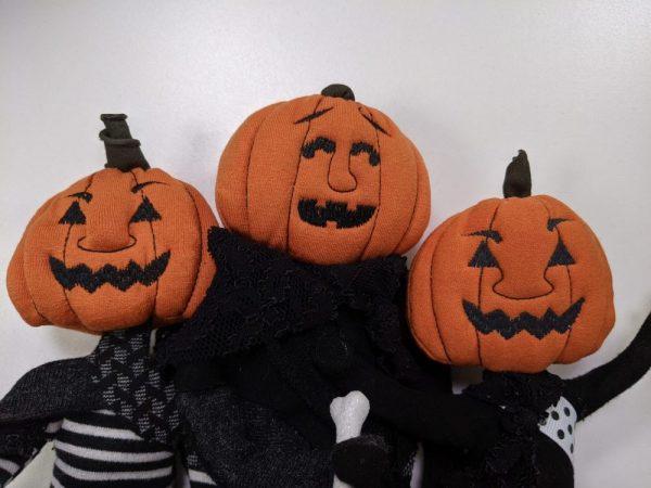pumpkin heads for ITH dolls