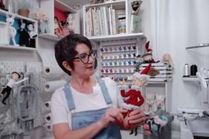 DIY elf doll tutorial