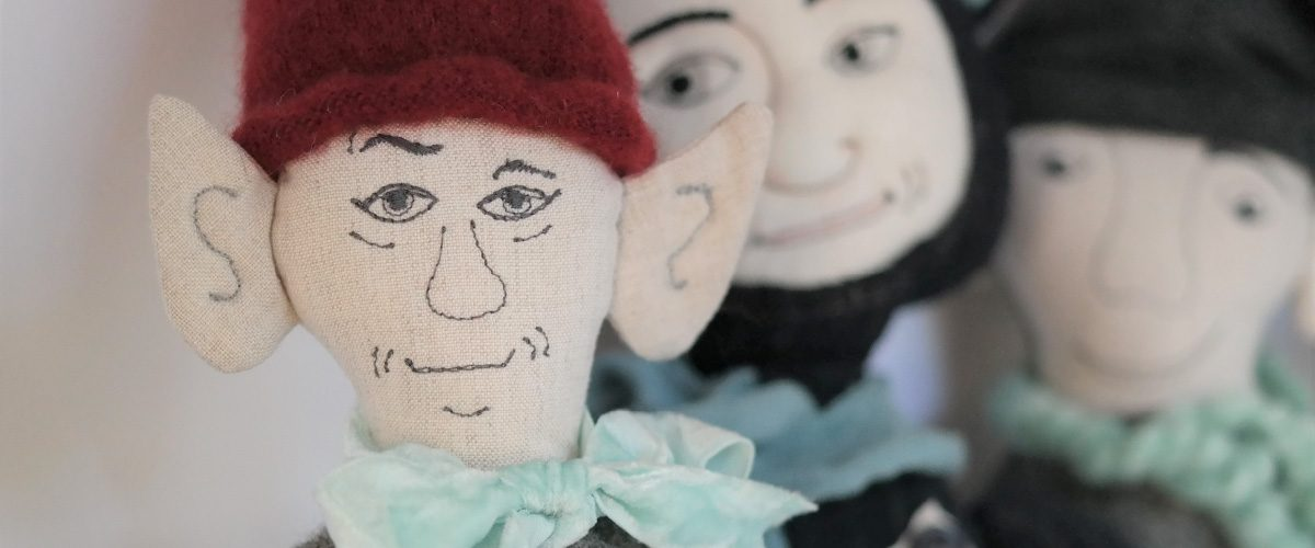 cloth character dolls by ballyhoo